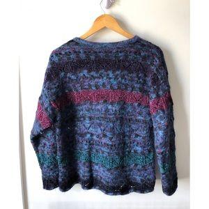 Vintage Talbots Mohair Grandma sweater